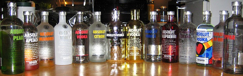 800px Absolut Vodka Collection