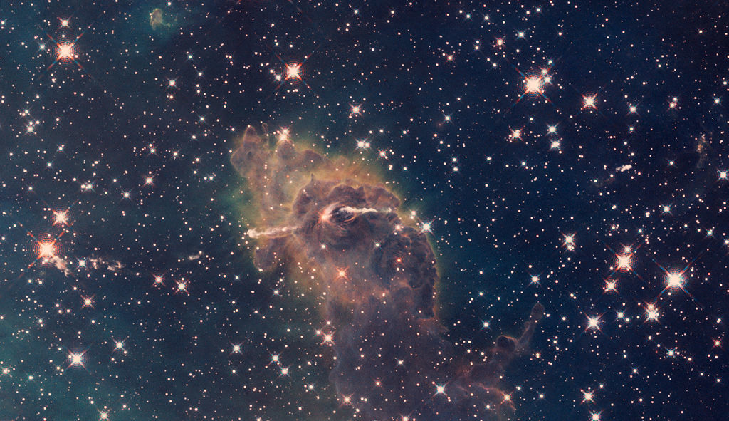 Picture of space to illustrate the smell of space