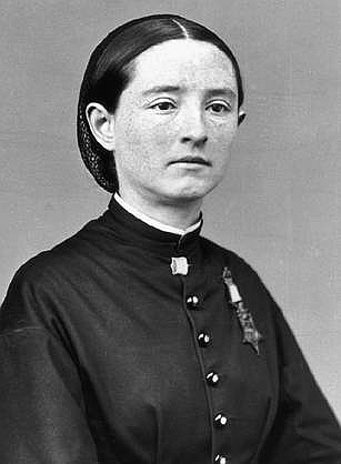 Photo of Mary Edwards Walker, the only woman Medal of Honor winner.