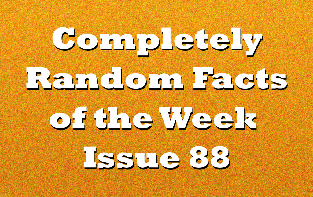 random facts of the week text
