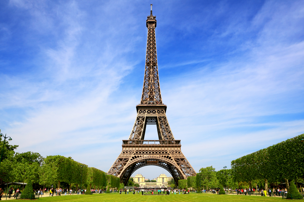 Photo of the Eiffel Tower.