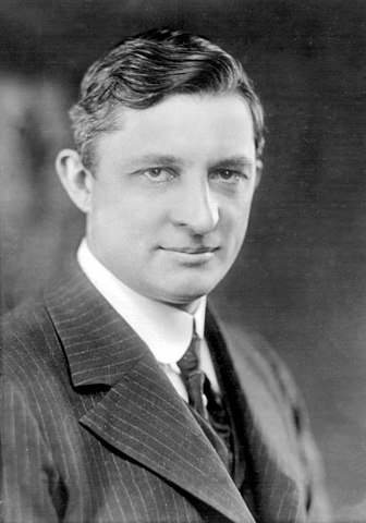 Portrait of Willis Carrier, inventor of modern air conditioning.